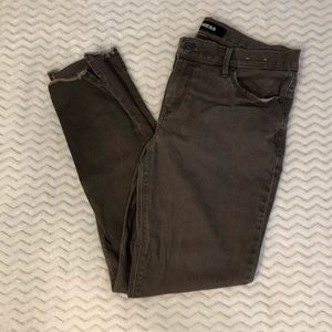 Worn once! Express Brown Mid Rise Legging